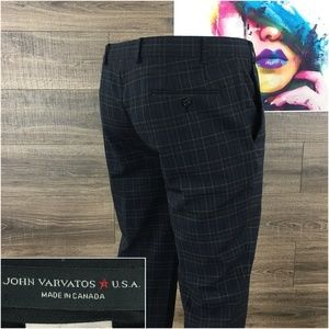 John Varvatos Mens Wool Blend Pants 40x29